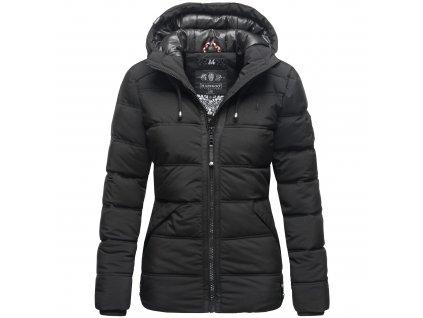 Dámska zimná bunda s kapucňou Liebeswolke Marikoo - BLACK