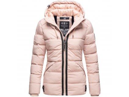 Dámska zimná bunda s kapucňou Liebeswolke Marikoo - ROSE