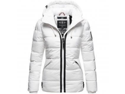 Dámska zimná bunda s kapucňou Liebeswolke Marikoo - WHITE