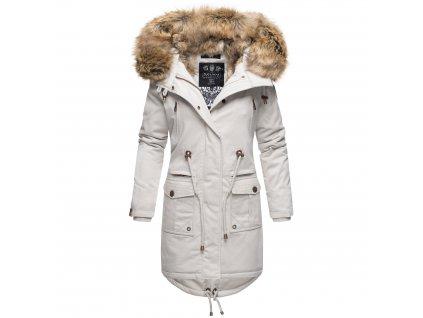 Dámska zimná bunda Rosinchen Navahoo - LIGHT GREY