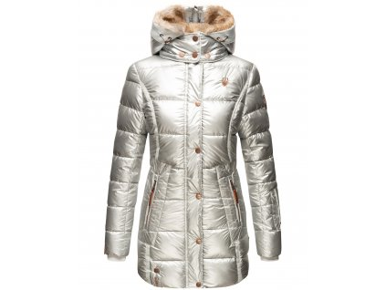 Dámska zimná bunda Lieblings Jacke Premium Marikoo - SILVER