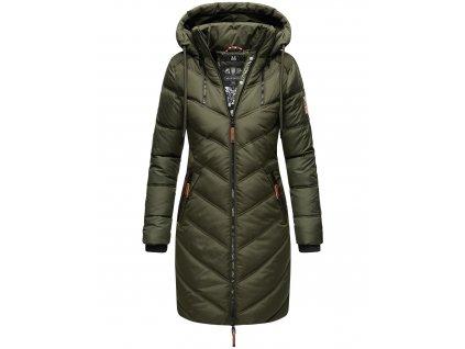 Dámska zimná dlhá bunda Armasa Marikoo - OLIVE