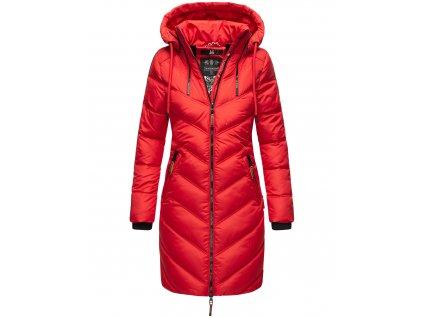 Dámska zimná dlhá bunda Armasa Marikoo - RED
