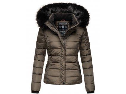 Dámska zimná bunda s kožušinkou MIAMOR Navahoo - ANTRACITE