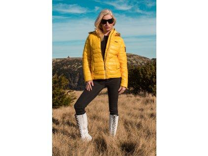 Dámska zimná bunda Aurealianaa Navahoo - YELLOW