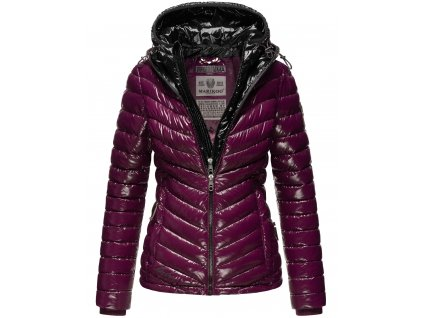 Dámska zimná bunda Lenjaa Marikoo - AUBERGINE/BLACK