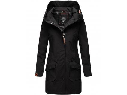 Dámsky zimný Softshell kabátik Mayleen Marikoo - BLACK