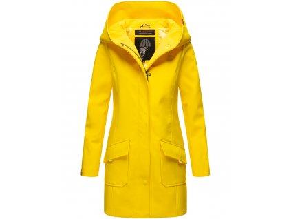 Dámsky zimný Softshell kabátik Mayleen Marikoo - YELLOW