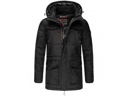 Pánska zimná bunda Luaan Navahoo - BLACK