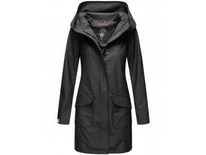 Dámsky nepremokavý kabát Delishiaa Navahoo - BLACK
