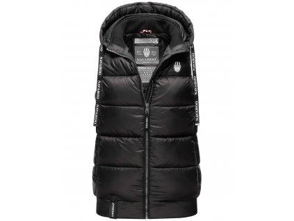 Dámska vesta s kapucňou Kassidy Navahoo - BLACK