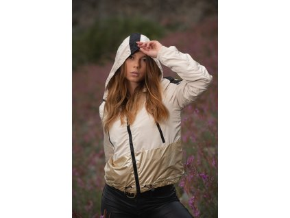 Dámska jarná - jesenná bunda Sunitaa Navahoo - BEIGE