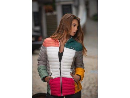 Dámska jarná-jesenná bunda Multikulti Navahoo - DARK 2