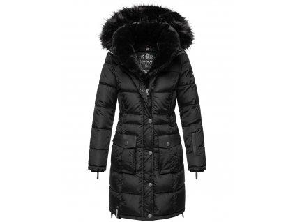 Dámska zimná bunda kabát Sinja Navahoo - BLACK