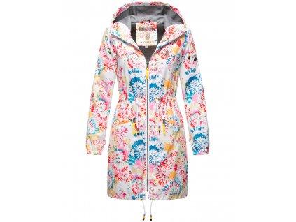 Dámska podšitá bunda do dažďa 3v1 Parella Navahoo - WHITE