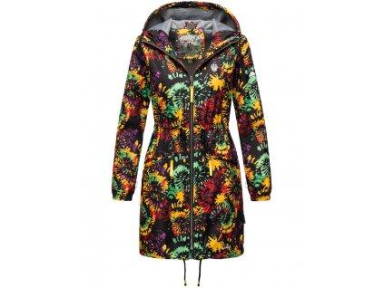 Dámska podšitá bunda do dažďa 3v1 Parella Navahoo - BLACK