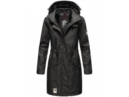 Dámska zimná bunda do dažďa Deike Navahoo - BLACK
