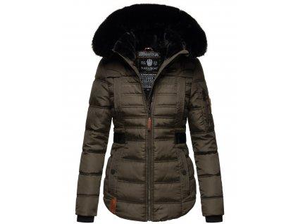 Dámská zimní bunda Melikaa Navahoo - ANTRACITE