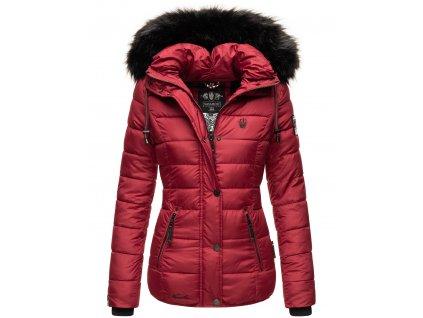 Dámska zimná bunda Zuckerbiene Navahoo - BORDEAUX