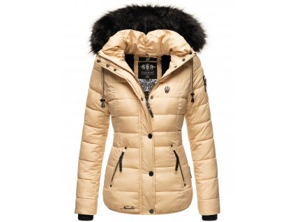 Dámska zimná bunda Zuckerbiene Navahoo - BEIGE