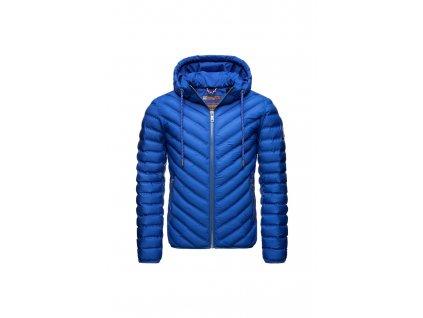 Pánska jarná / jesenná prechodová bunda Fey Tun Navahoo - BLUE JEAN