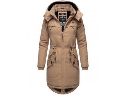 Dámska zimná bunda Kamii Marikoo - TAUPE