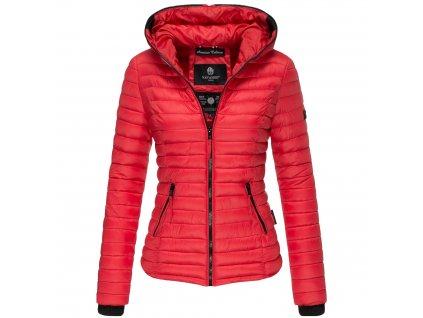 Dámska jarná-jesenná bunda Kimuk Navahoo - RED