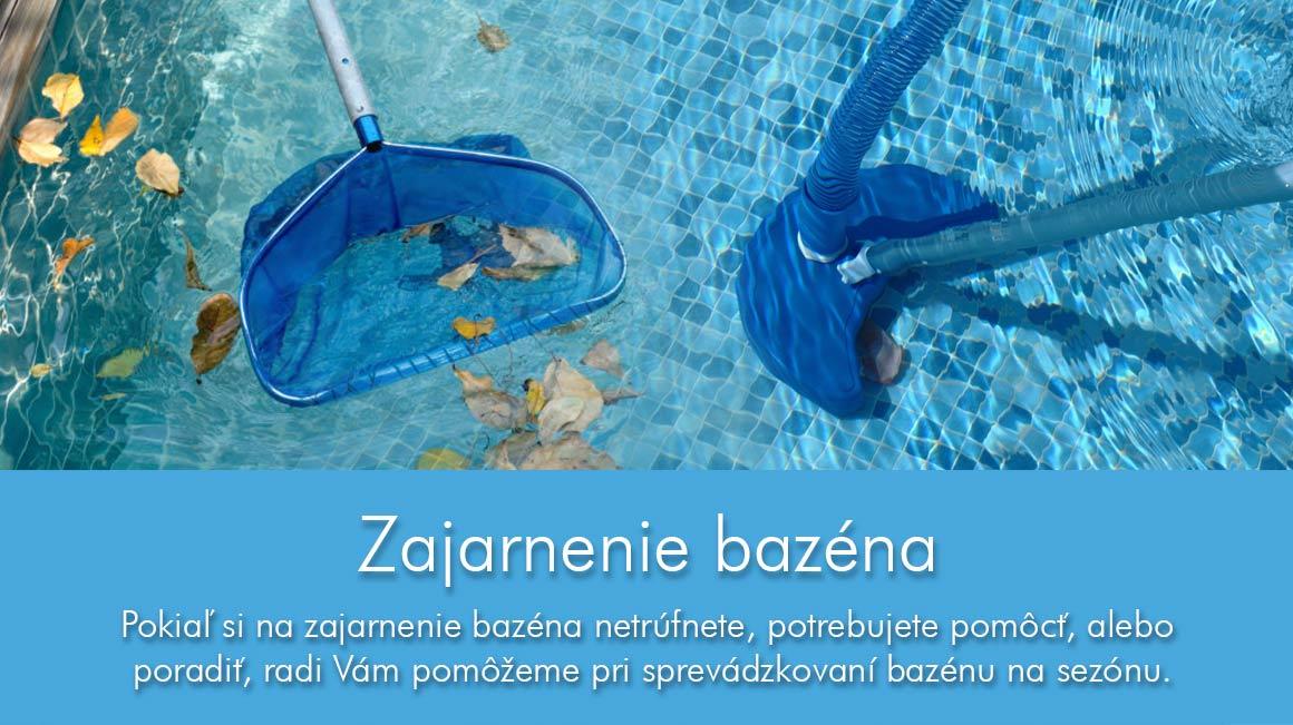 Zajarnenie bazéna Mariner