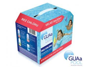 Sada bezchlórovej chémie GUAa pre veľký bazén