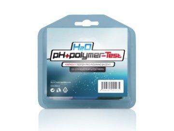 H2O pH a polymer test - kombinovaný bazénový kvapkový tester pre stanovenie hodnôt pH akoncentrácie dezinfekčného prostriedku H2O COOL vo vode