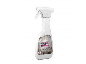 disiCLEAN PROFI - určený k okamžitému použitiu pre rýchlu dezinfekciu plôch, predmetov, zariadení, nástrojov a ťažko prístupných miest postrekom