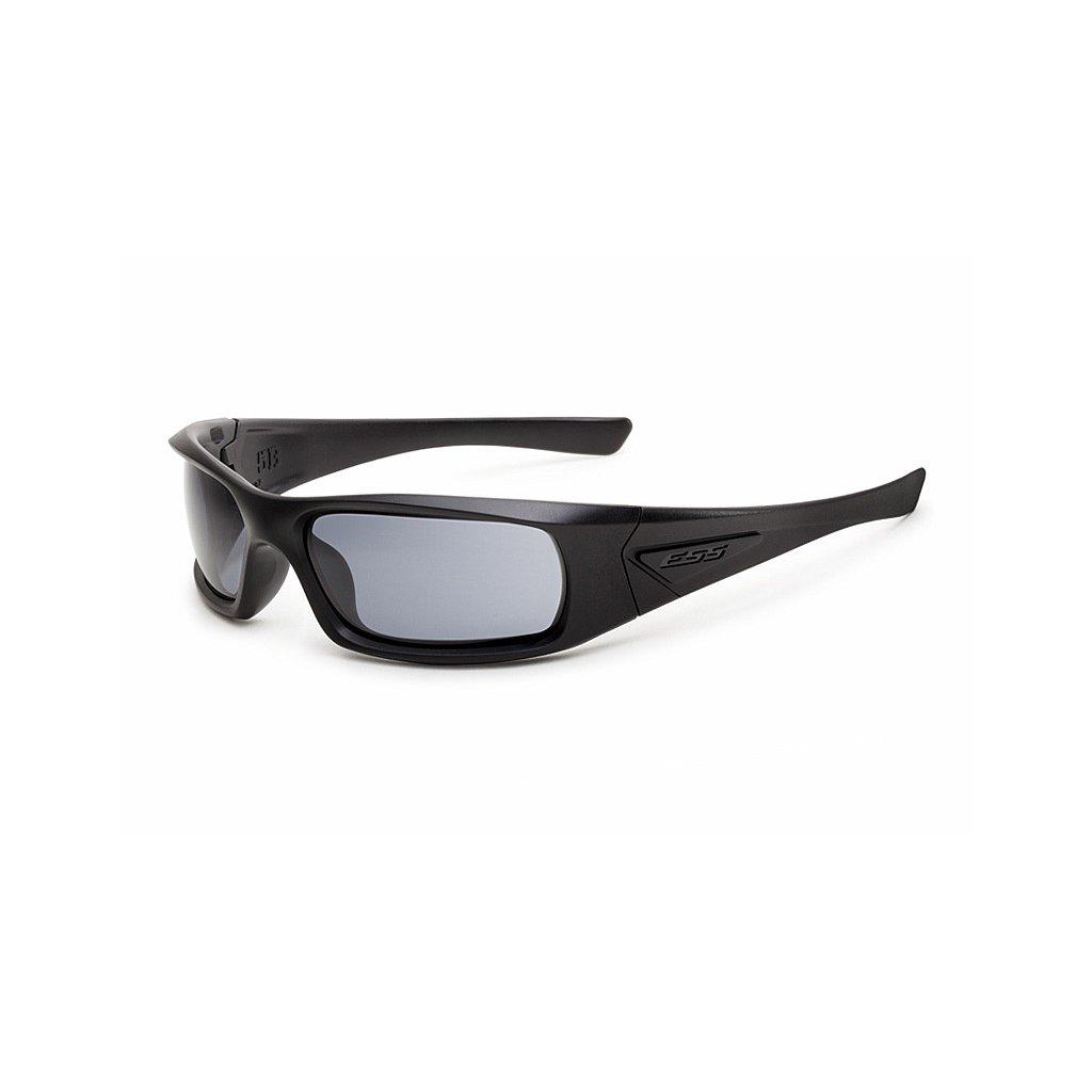 Střelecké Brýle ESS 5B Černé Smoke Grey