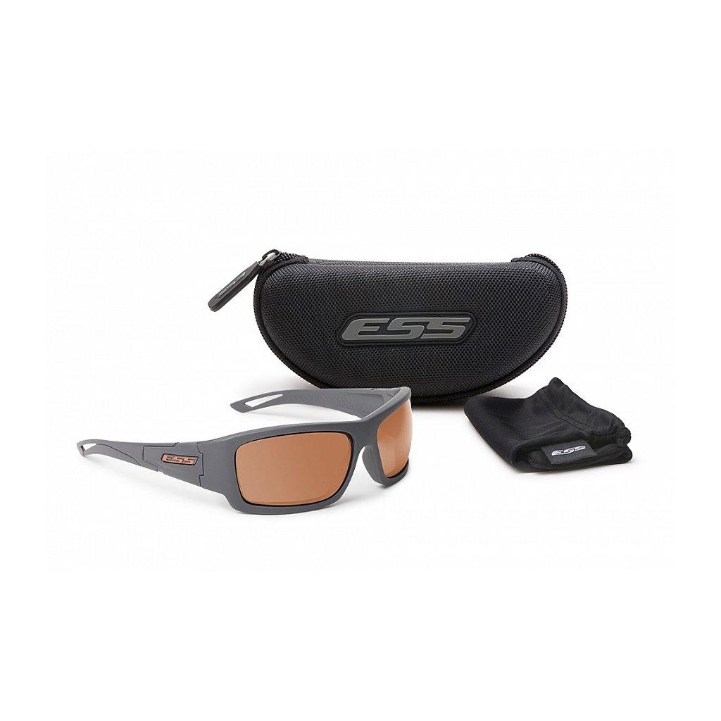 Střelecké Brýle ESS Credence Grey Cooper Lenses