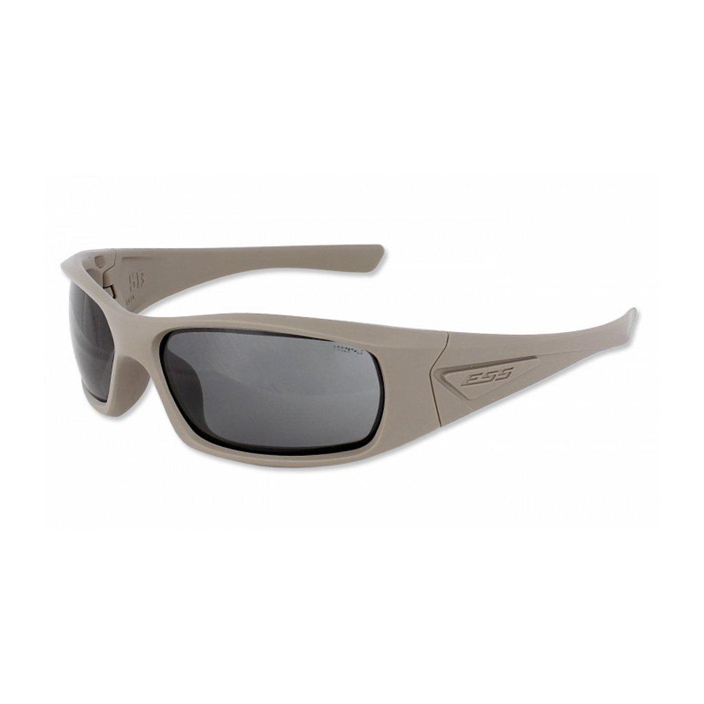 Střelecké Brýle ESS 5B Terrain TAN Smoke Grey