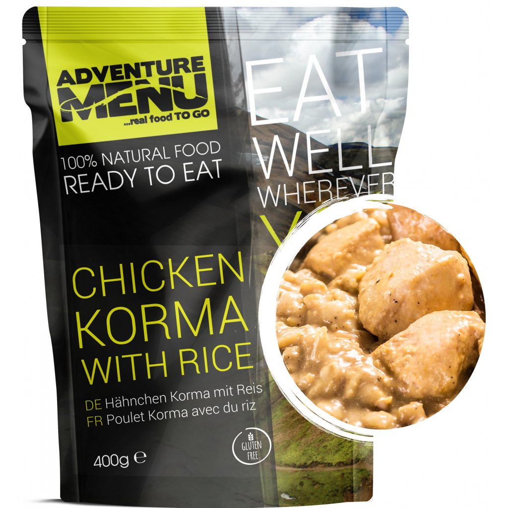 p Chicken Korma with rice