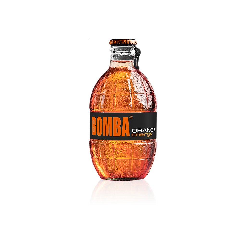 Energetický nápoj BOMBA! 250ml - Pomeranč