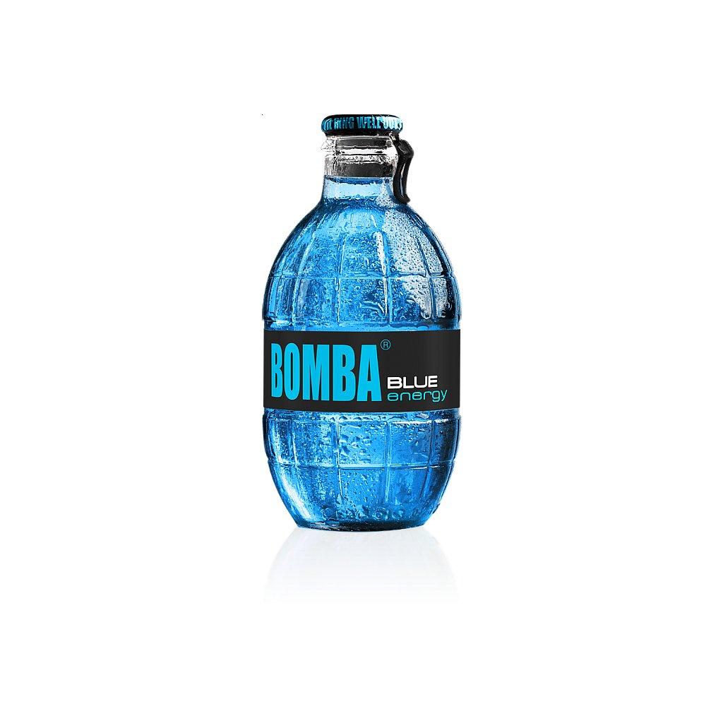 Energetický nápoj BOMBA! 250ml - Borůvka