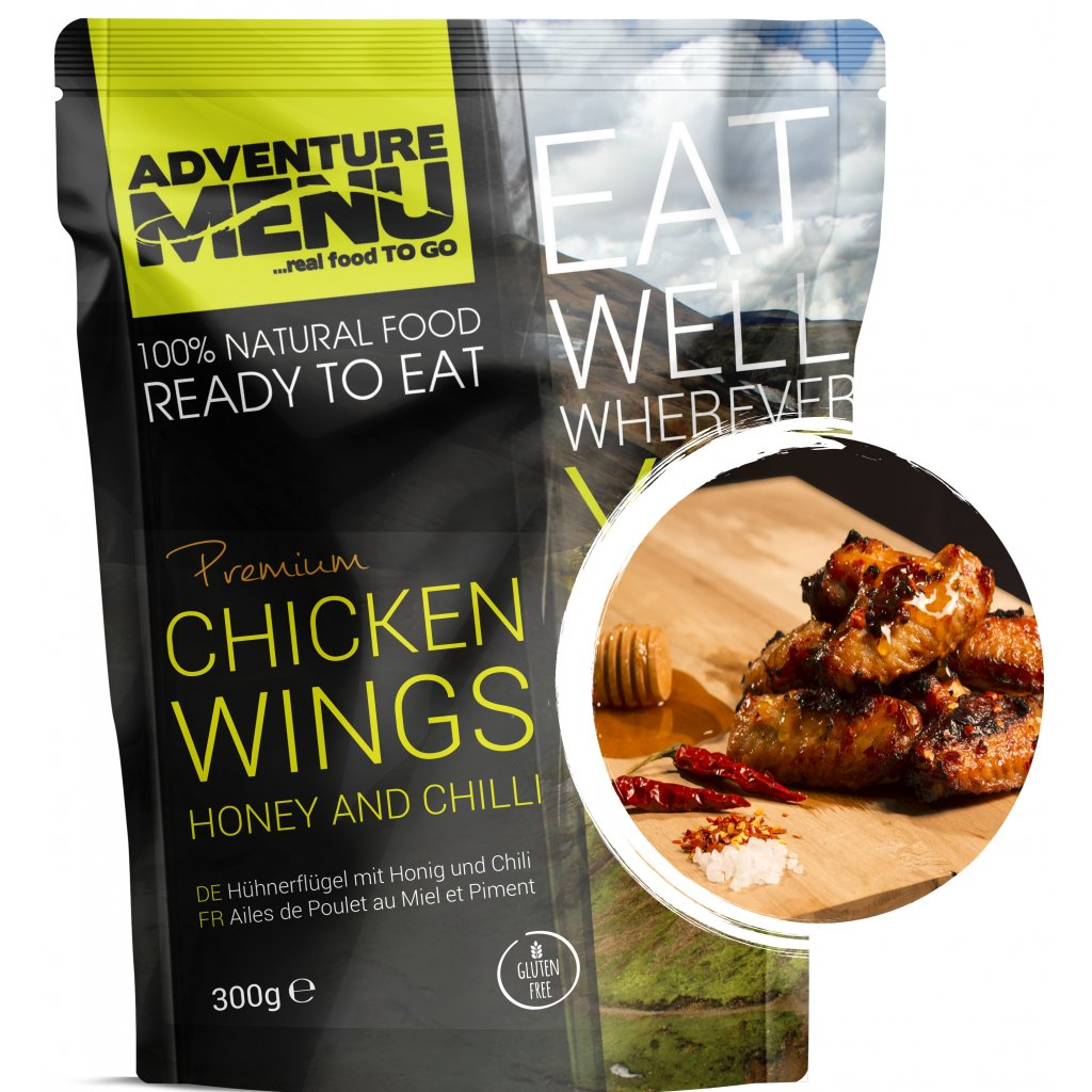 Chicken wings honey and chilli p