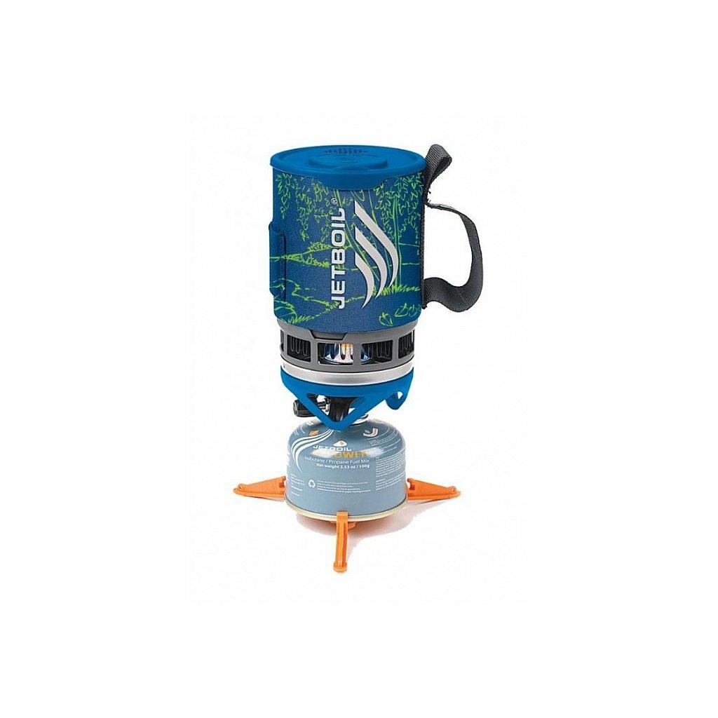 Plynový vařič Jetboil ZIP Blue Stream