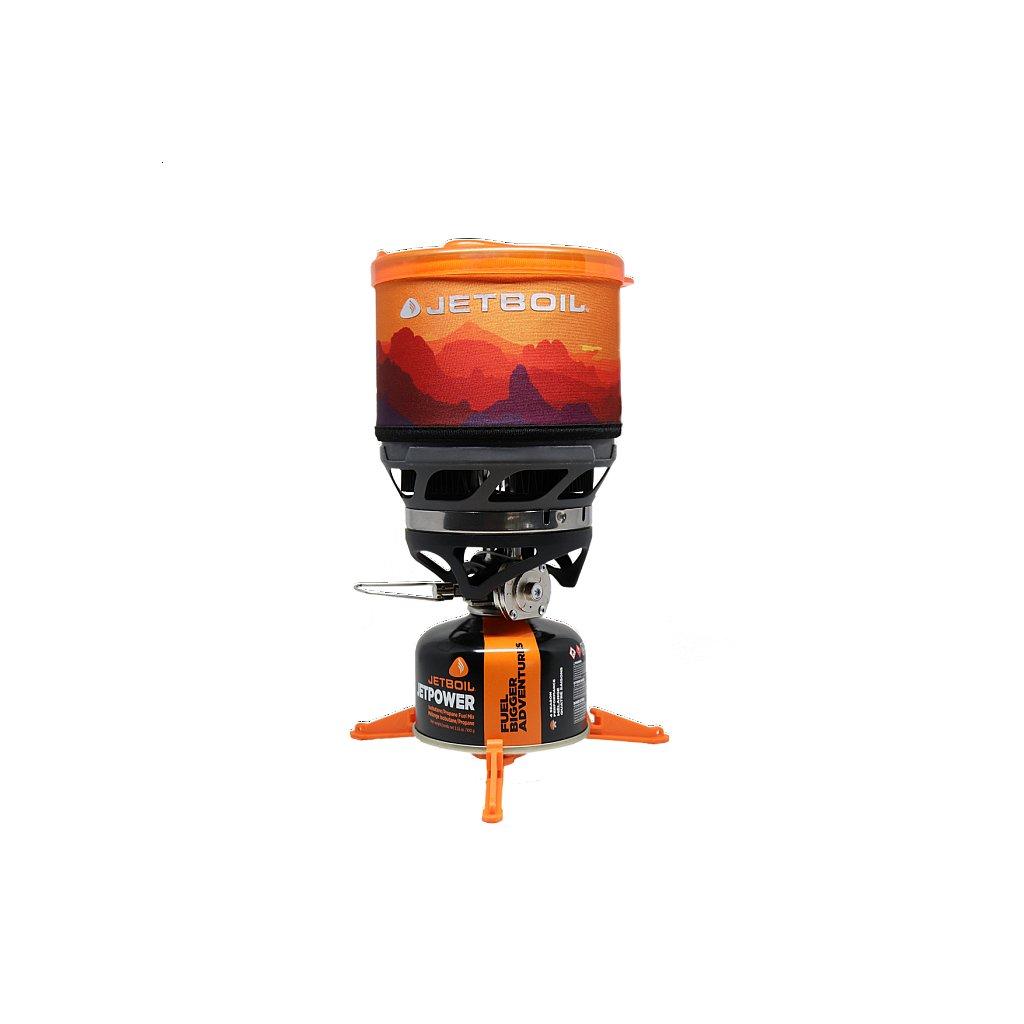 Plynový vařič Jetboil MiniMo Sunset