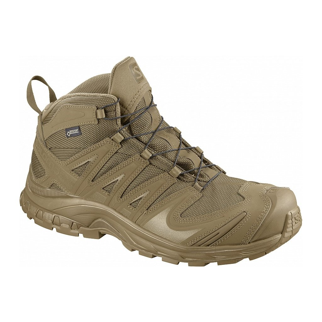 Boty Salomon XA Forces Mid GTX 2018 Coyote Brown