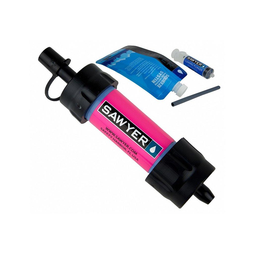 Vodní Filtr Sawyer Mini - růžový
