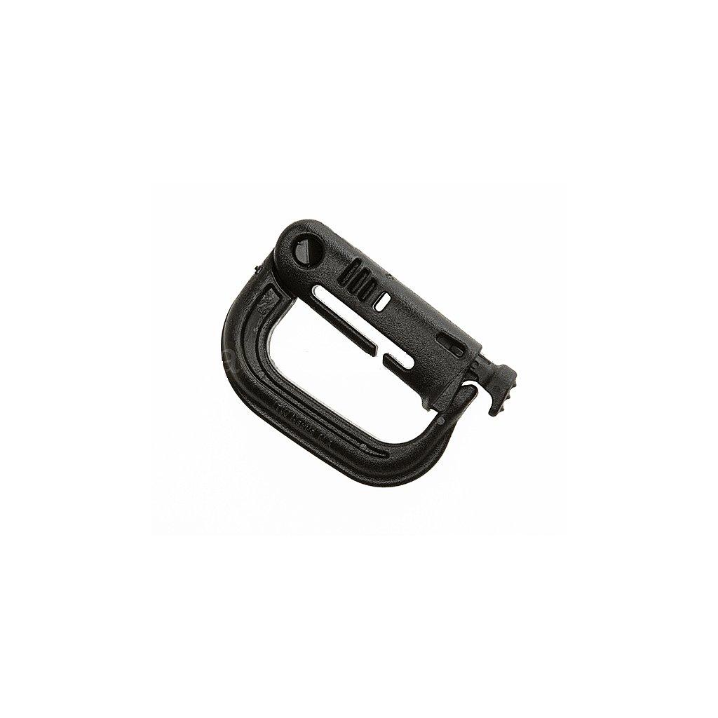Plastová karabina Grimloc ITW Nexus black