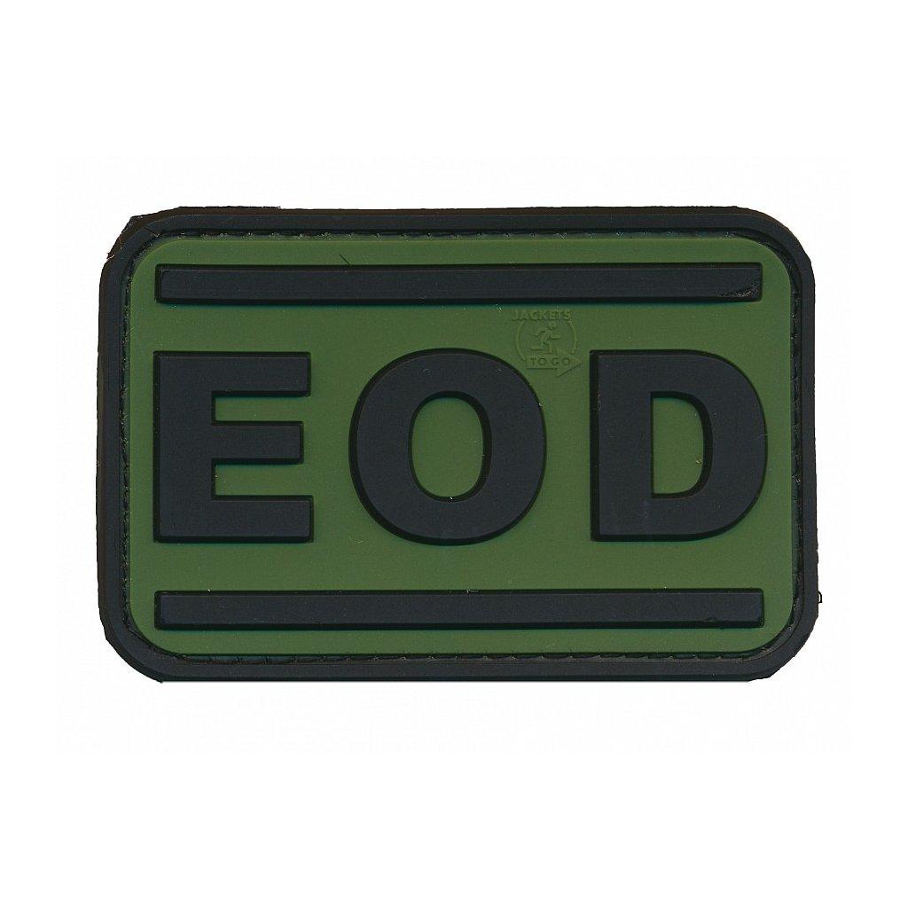 Gumová nášivka EOD Forest