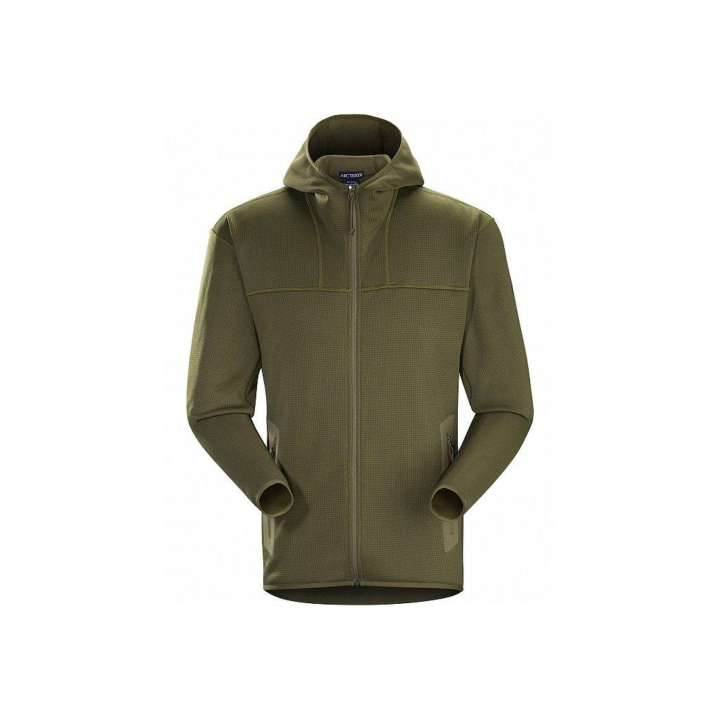 Funkční Mikina Arc'teryx LEAF Naga Hoody Full Zip Ranger Green