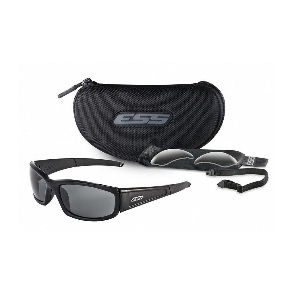 Střelecké Brýle ESS CDI Černé