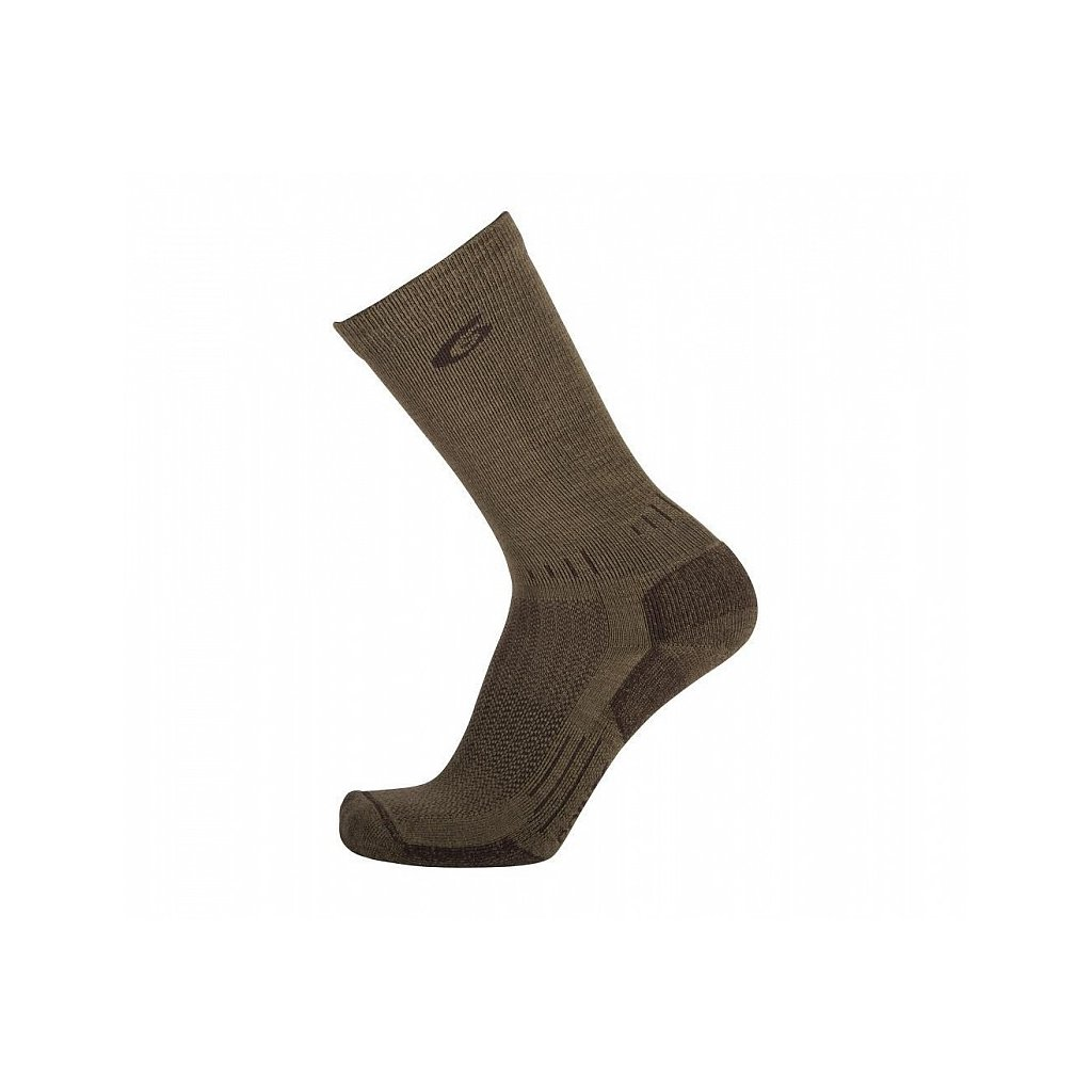 Merino Ponožky Point6 37.5 Tactical Tracker Coyote Brown