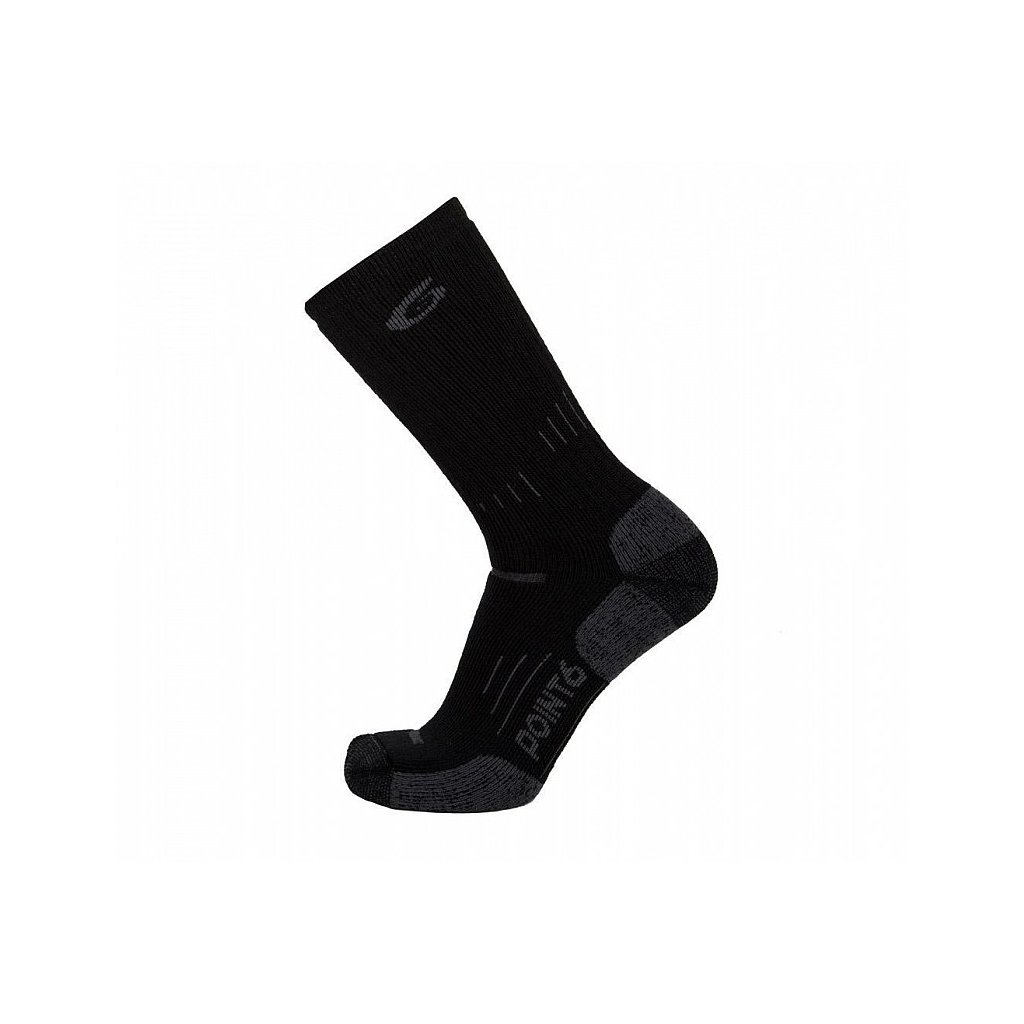 Merino Ponožky Point6 37.5 Tactical Operator Černé