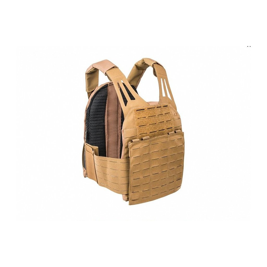 Tasmanian Tiger Plate Carrier LC Coyote Brown