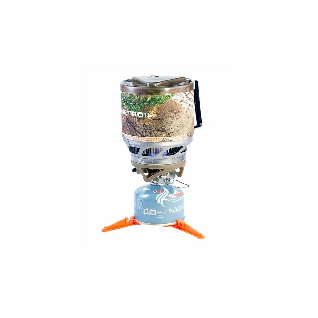 Plynový vařič Jetboil MiniMo RealTree Camo